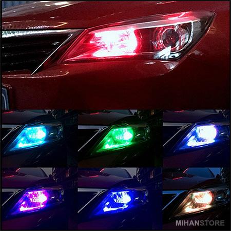 لامپ خودرو مدل Multi Color